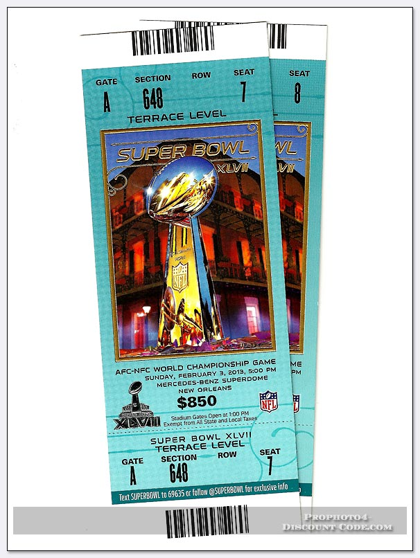 2013 Super Bowl 47 Tickets at the Superdome in New Orleans,Louisiana