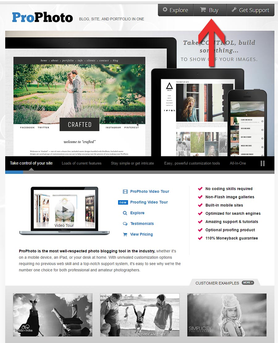 The Discount code is now available for the Prophoto 6 wordpress blog.